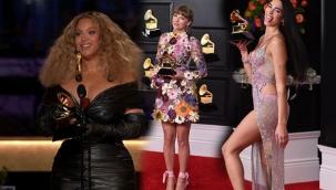 Beyonce ve kızı geceye damga vurdu