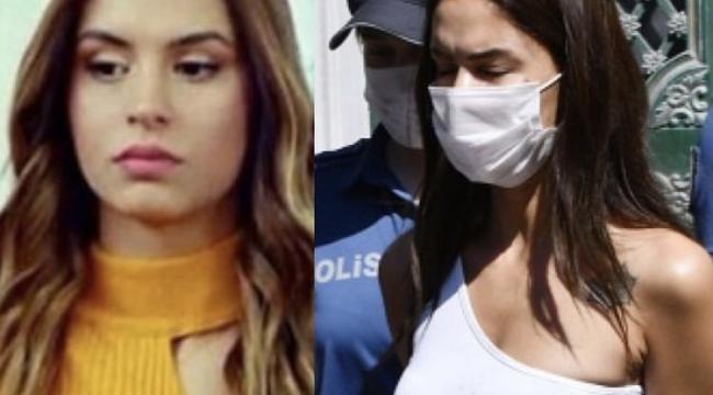 Ayşegül Çınar Polislere Saldırdı...